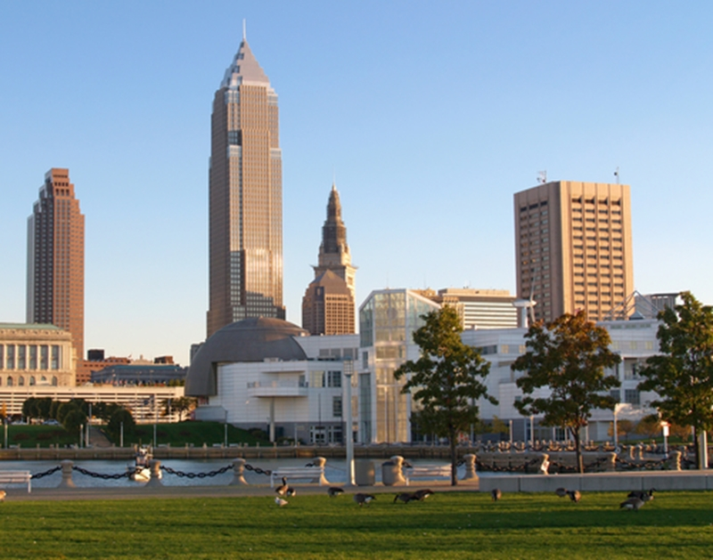 Cleveland is one of three cities in Ohio where jobs are fertile.